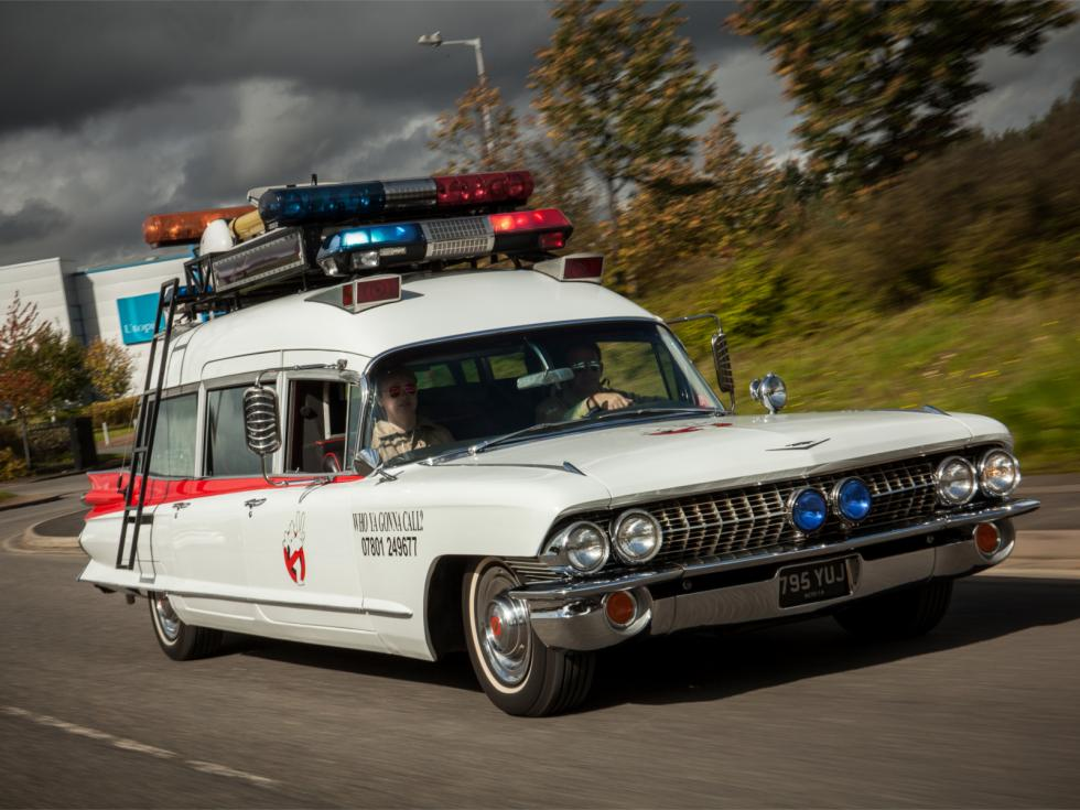 Paul Harborne Ghostbusters Cadillac