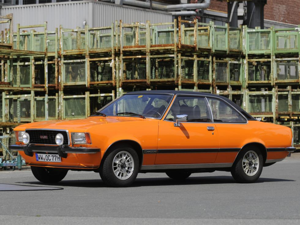 1972 Opel Commodore B Coupe