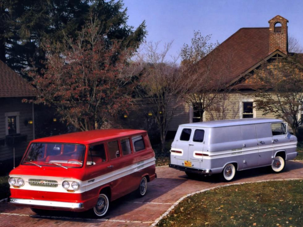 Chevrolet Corvair 95 und Greenbrier