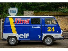 Renault Estafette Assistance Course Team Tyrrell